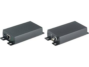 Globalmediapro SHE IP02 Active IP Coaxial Extender (Transmitter and Receiver)