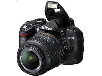 Nikon D3000 DSLR Camera Kit with Nikon 18-55mm VR Lens