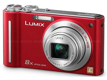 Panasonic Lumix DMC-ZR1 Digital Camera - Red