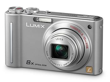 Panasonic Lumix DMC-ZR1 Digital Camera - Silver