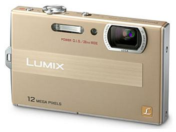 Panasonic Lumix DMC-FP8 Digital Camera - Gold