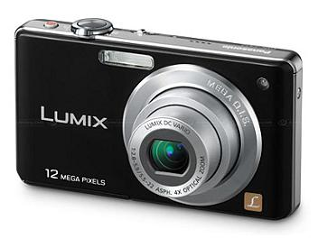 Panasonic Lumix DMC-FS12 Digital Camera - Black
