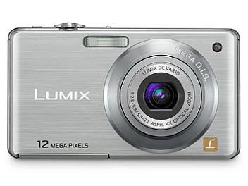 Panasonic Lumix DMC-FS12 Digital Camera - Silver