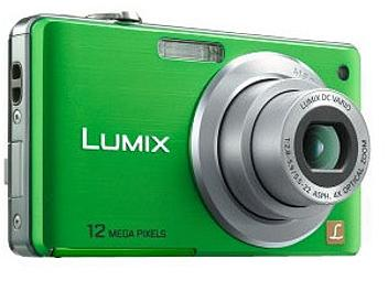 Panasonic Lumix DMC-FS12 Digital Camera - Green