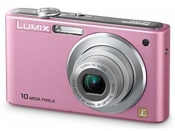 Panasonic Lumix DMC-FS42 Digital Camera - Pink