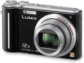 Panasonic Lumix DMC-ZS1 Digital Camera - Black