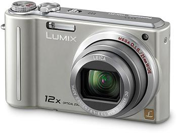 Panasonic Lumix DMC-ZS1 Digital Camera - Silver