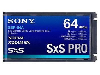 Sony SBP-64A 64GB SxS PRO Memory Card