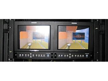 Konvision KVM-9020R-2 2 x 8.4-inch HD LCD Monitor