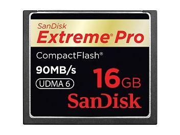 SanDisk 16GB ExtremePro CompactFlash Memory Card 90MB/s (pack 5 pcs)