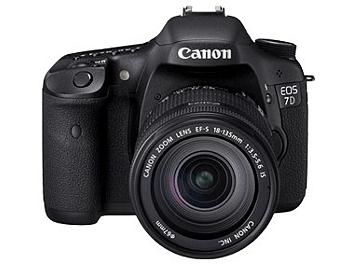 Canon EOS-7D Digital SLR Camera Kit with Canon EF-S 18-135mm Lens