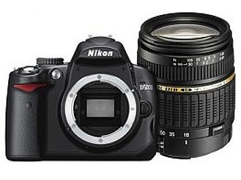 Nikon D5000 DSLR Camera Kit with Tamron 18-200mm Di II Lens and 8GB SDHC Card