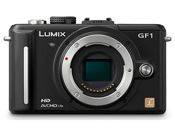 Panasonic Lumix DMC-GF1 Camera Body PAL - Black