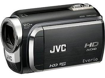 JVC Everio GZ-HD320 HD Camcorder PAL - Black