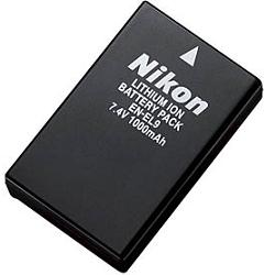 Nikon EN-EL9A Lithium Ion Battery (pack 2 pcs)