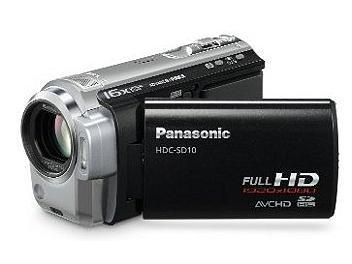 Panasonic HDC-SD10 HD Camcorder PAL - Black