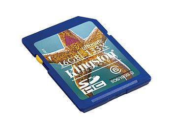 Kingston 16GB Class-6 SDHC Memory Card - 20MB/s (pack 2 pcs)