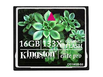 Kingston 16GB CompactFlash Elite Pro Memory Card (pack 2 pcs)