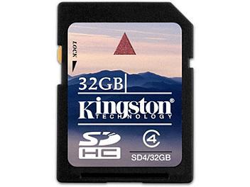 Kingston 32GB Class-4 SDHC Memory Card (pack 2 pcs)