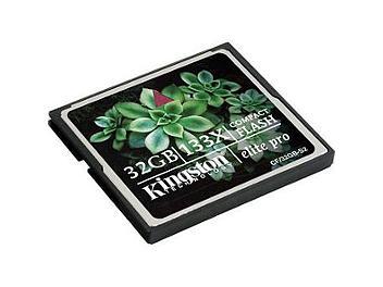 Kingston 32GB CompactFlash Elite Pro Memory Card (pack 50 pcs)