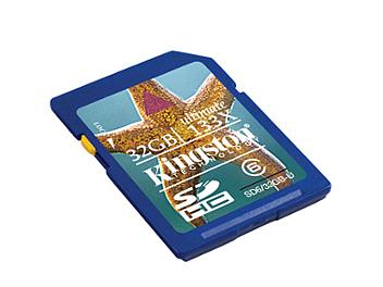 Kingston 32GB Class-6 SDHC Memory Card - 20MB/s