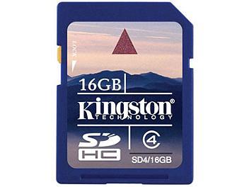 Kingston 16GB Class-4 SDHC Memory Card (pack 10 pcs)