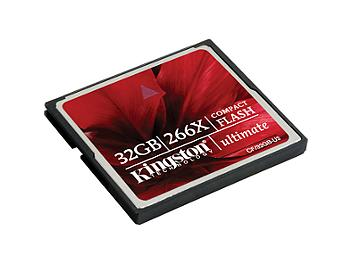 Kingston 32GB CompactFlash Ultimate 266x Memory Card (pack 5 pcs)