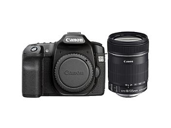 Canon EOS-50D DSLR Camera Kit with Canon EF-S 18-135mm IS Lens