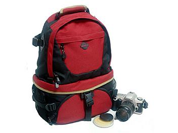 Winer T-07 Camera Backpack - Black/Red