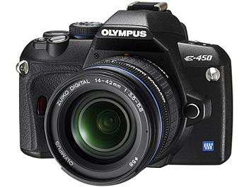 Olympus E-450 Digital SLR Camera Kit with Olympus 14-42mm Lens