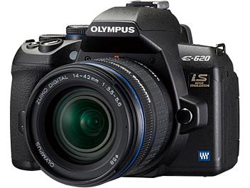 Olympus E-620 Digital SLR Camera Kit with Olympus 14-42mm Lens and Olympus 40-150mm Lens