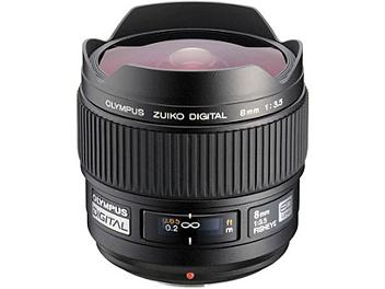 Olympus 8mm F3.5 Zuiko Digital ED Fisheye Lens - Four Thirds Mount