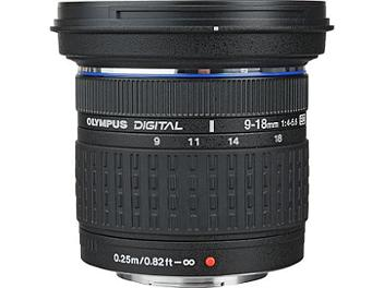 Olympus 9-18mm F4-5.6 Zuiko Digital ED Lens - Four Thirds Mount