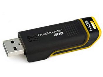 Kingston 64GB DataTraveler 200 USB Flash Memory (pack 3 pcs)