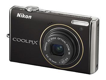 Nikon Coolpix S640 Digital Camera - Black