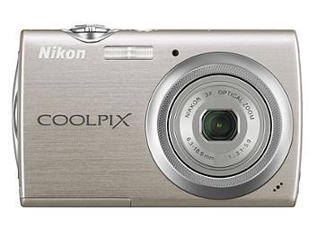 Nikon Coolpix S230 Compact Digital Camera - Silver