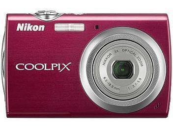 Nikon Coolpix S230 Compact Digital Camera - Red