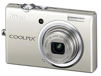 Nikon Coolpix S570 Digital Camera - Silver