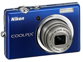 Nikon Coolpix S570 Digital Camera - Blue
