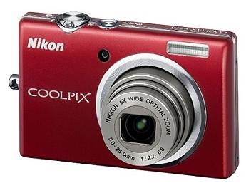 Nikon Coolpix S570 Digital Camera - Red