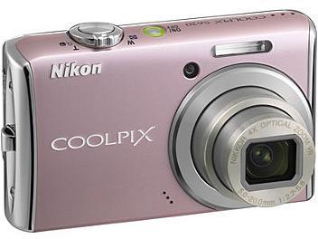 Nikon Coolpix S620 Digital Camera - Pink