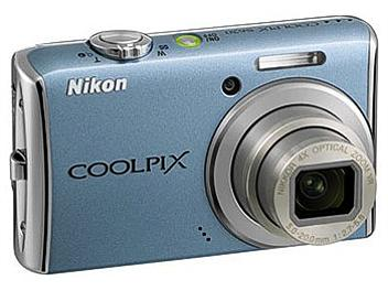 Nikon Coolpix S620 Digital Camera - Blue