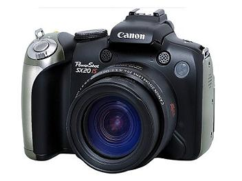 Canon PowerShot SX20 IS Digital Camera - Black