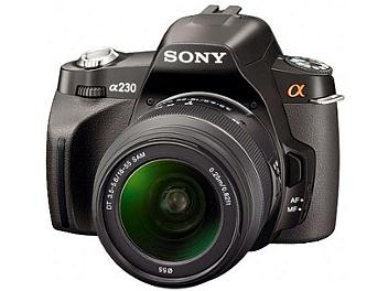 Sony Alpha DSLR-A230 DSLR Camera Kit with Sony 18-55mm Lens and Sony 55-200mm Lens