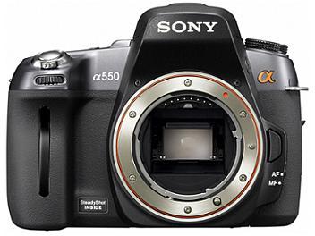 Sony Alpha DSLR-A550 Digital SLR Camera Kit with Sony 18-55mm Lens