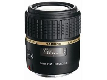 Tamron 60mm F2 SP AF II LD IF Di Macro Lens with Built-In Motor - Nikon Mount