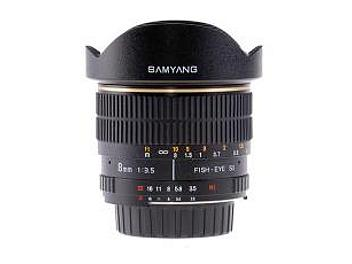 Samyang 8mm F3.5 Fisheye Lens - Canon Mount