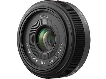 Panasonic 20mm F1.7 H-H020 Lens - Micro Four Thirds Mount