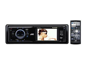 JVC KD-AVX11 Multimedia DVD/CD Receiver with Built-in Widescreen Monitor