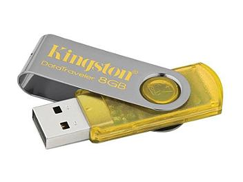Kingston 8GB DataTraveler 101 USB Flash Drive - Yellow